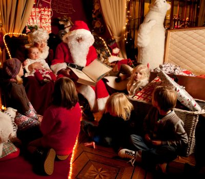 places to visit Santa and say over in Ireland