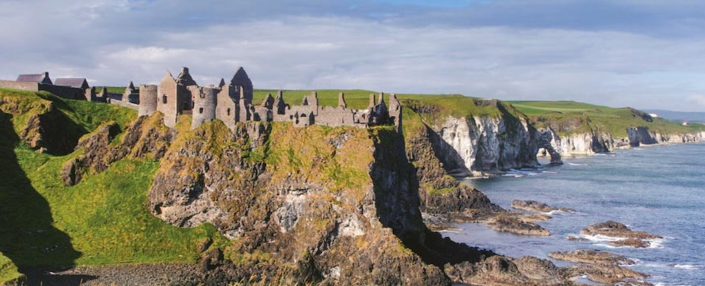 Dunluce Castle Anritm Mythical places to visit in Ireland