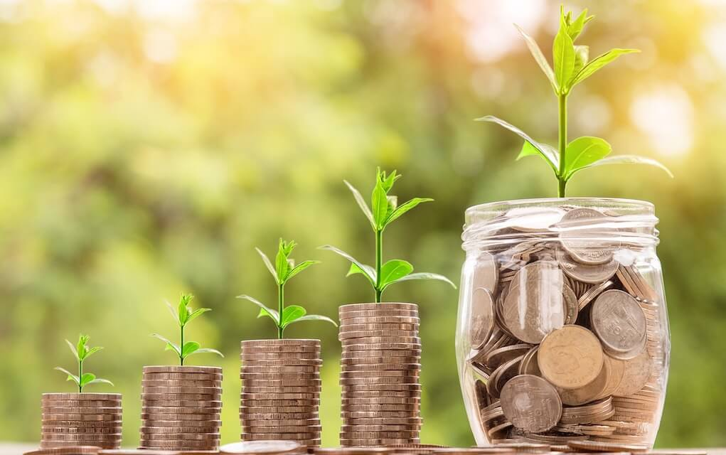 Coins and savings for pocket money