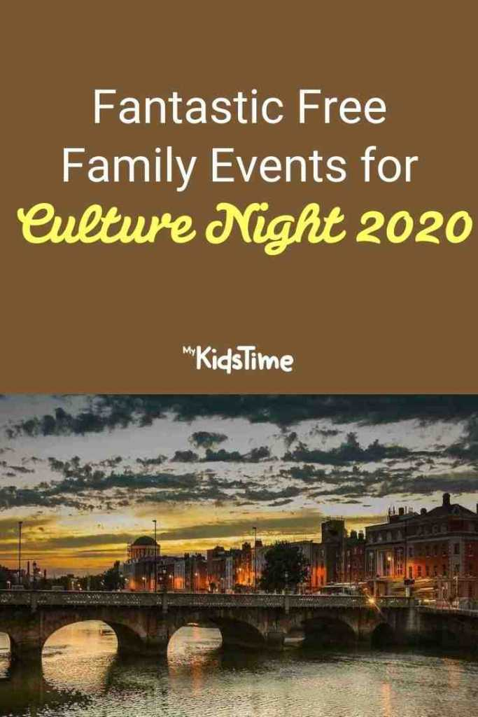 Fantastic Free Family Events for Culture Night 2020